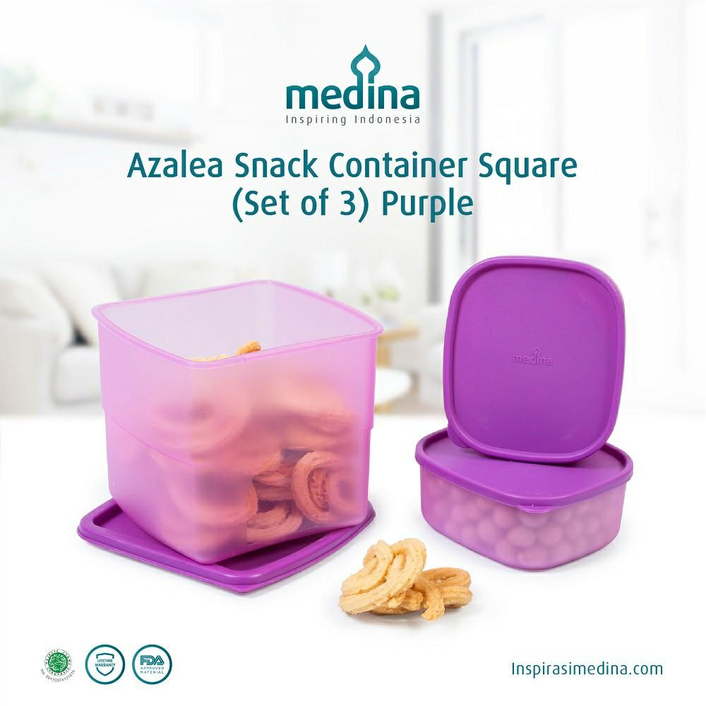 Azalea Snack Container ( Set Of 3 )