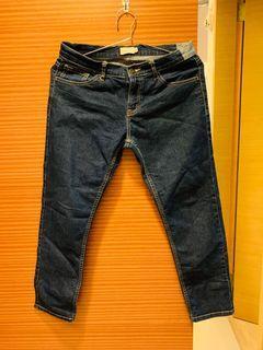 giordano 佐丹奴七分褲 男友褲尺寸標示25號約m號可穿