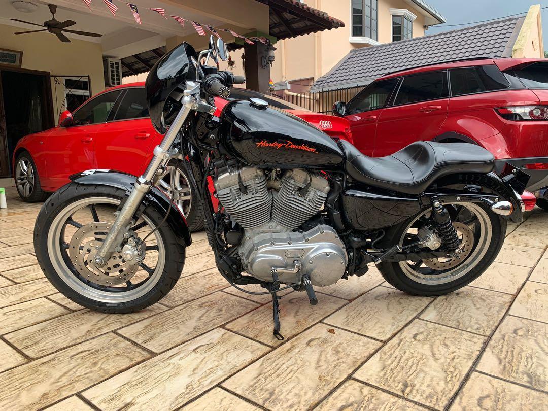 Harley Davidson Sportster Xl883l Motorbikes On Carousell