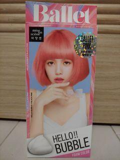 Hello bubble × Blackpink韓國泡泡染髮劑