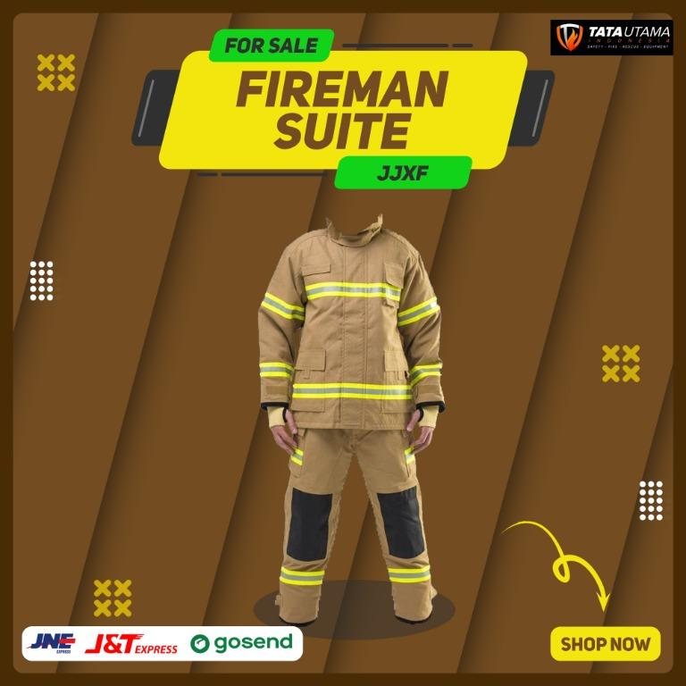 Jaket Pemadam Kebakaran / Jaket dan Celana Panjang