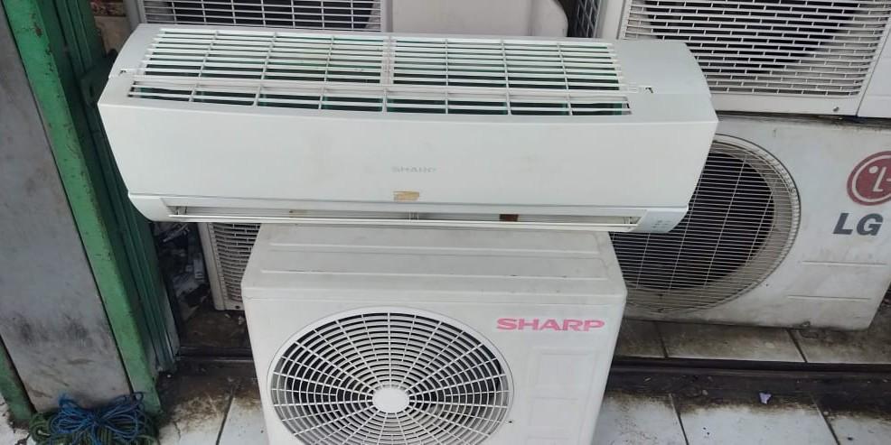 Jual beli AC second/ Baru ,Bongkar Pasang AC,Service AC ,mesin cuci ,kulkas Dll