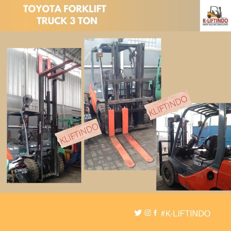 Jual Forklift 3 Ton Toyota Diesel