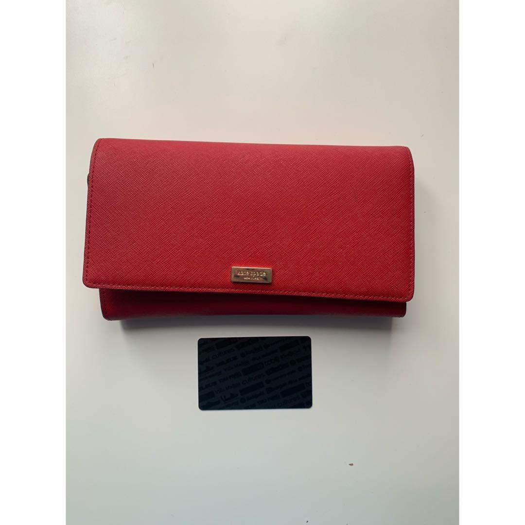 Kate Spade Large Red Wallet