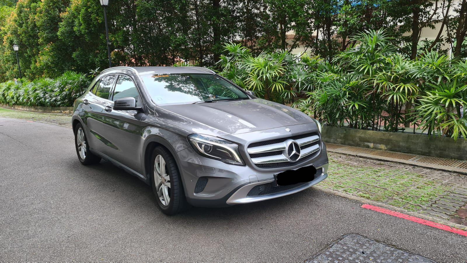 Mercedes-Benz GLA200 1.6 7G-DCT Auto
