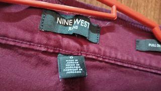 Nine West Maroon Red Pants