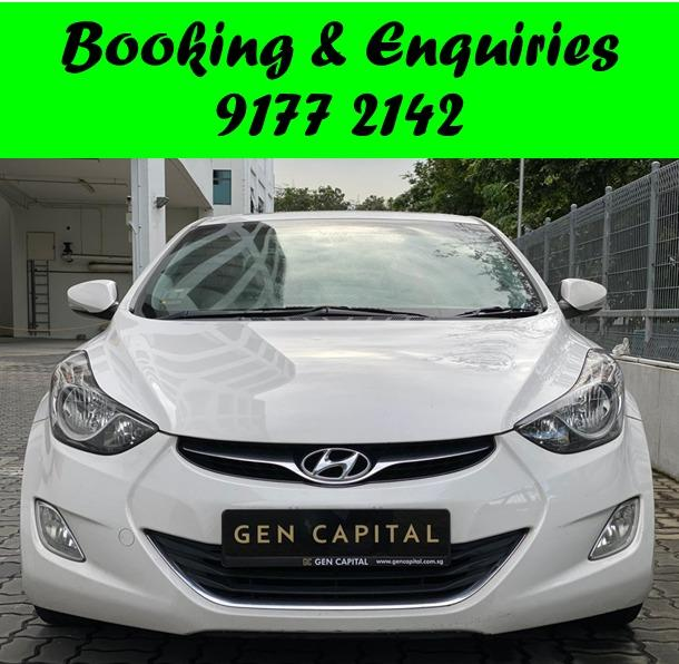 *PHV/PERSONAL* PREBOOKING NEW FLEET UNIT. 23/01/2021. Hyundai Elantra. PHV/PERSONAL/GRAB/Ryde/GOJEK/PARCEL DELIVERY .$500 deposit only. Whatsapp 9177 2142 to reserve.Cheap Car Rental. Cheap Car. Budget car.