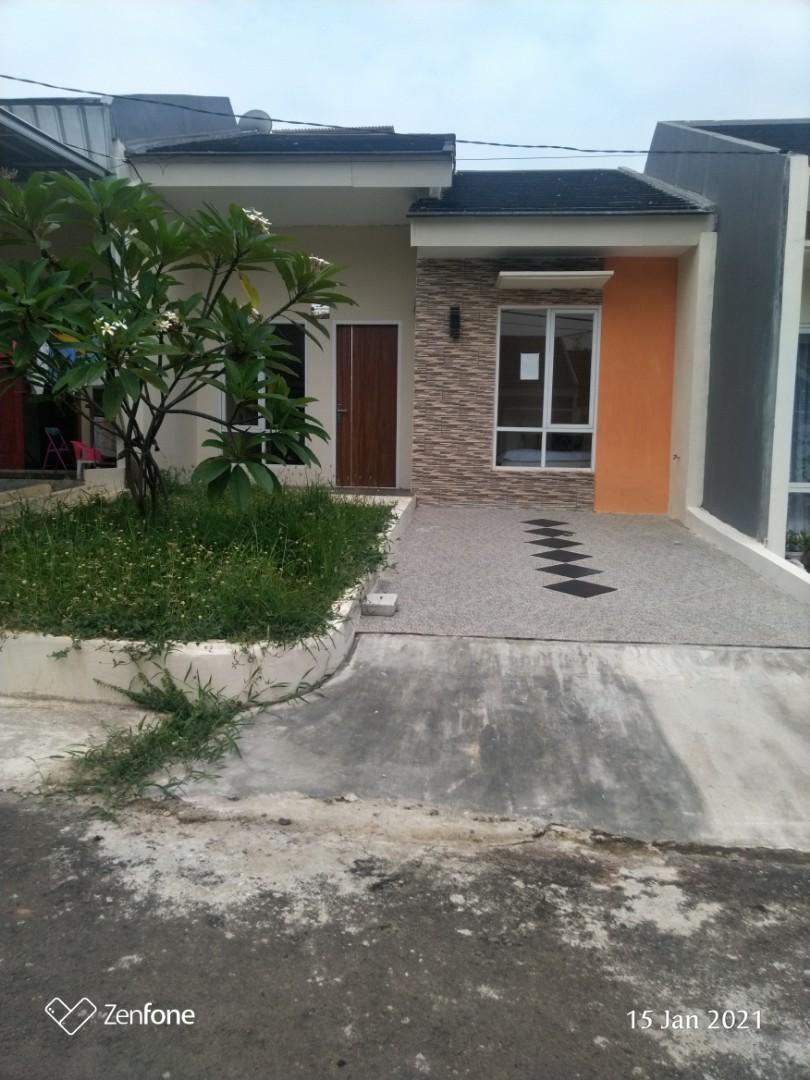 Rumah moderen minimalis cantik dekat tol Jati karya Cibubur