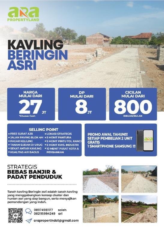 Tanah Kavling Cirebon Murah bisa di Cicil