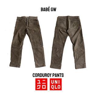 UNIQLO Celana Corduroy Pants Coklat / Brown