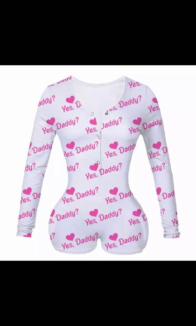 Yes daddy onesie