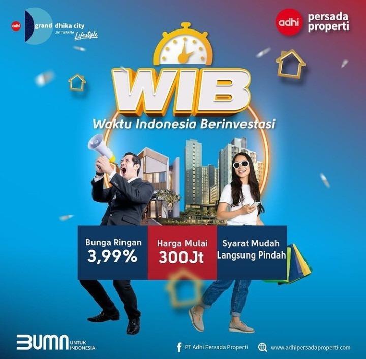 2021 Punya Apartemen 300jt-an Di Selatan Jakarta Akses Pintu Tol