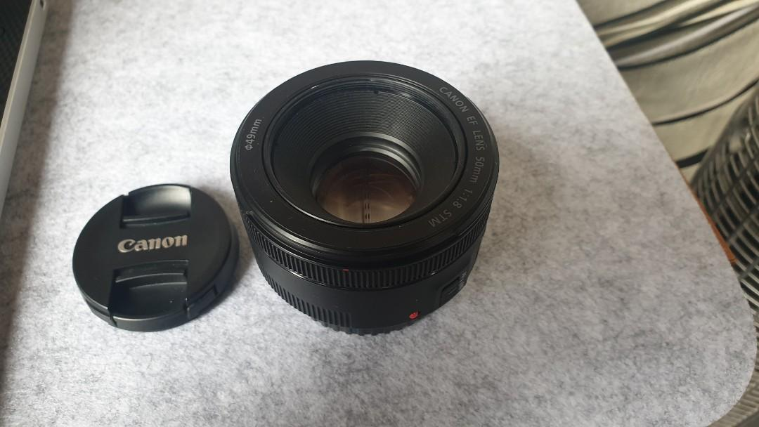 50 mm canon lens