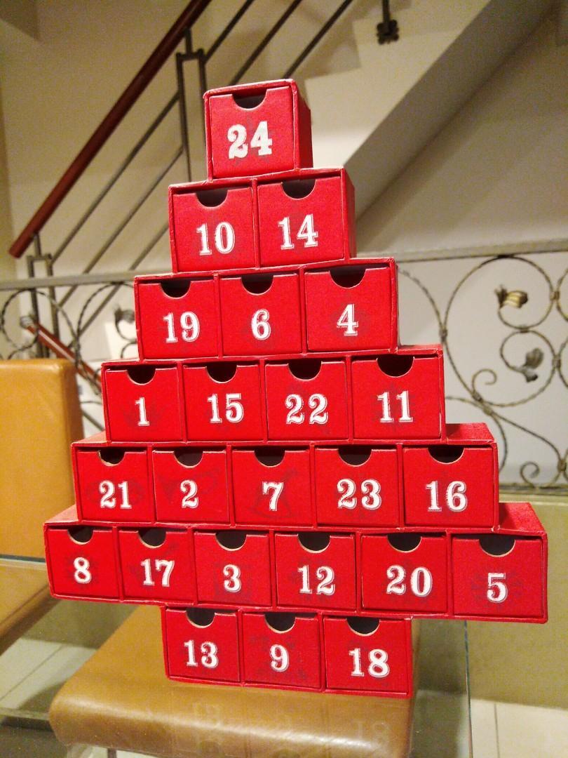 二手~聖誕樹造型小抽屜&拼圖