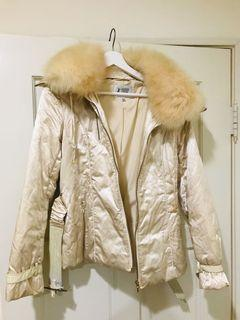 正品 Fashion Show兔毛領外套9號#保暖