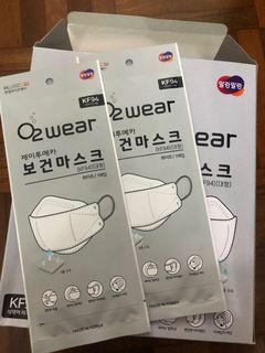 現貨 韓國製KF94 O2 Wear 口罩 獨立包裝