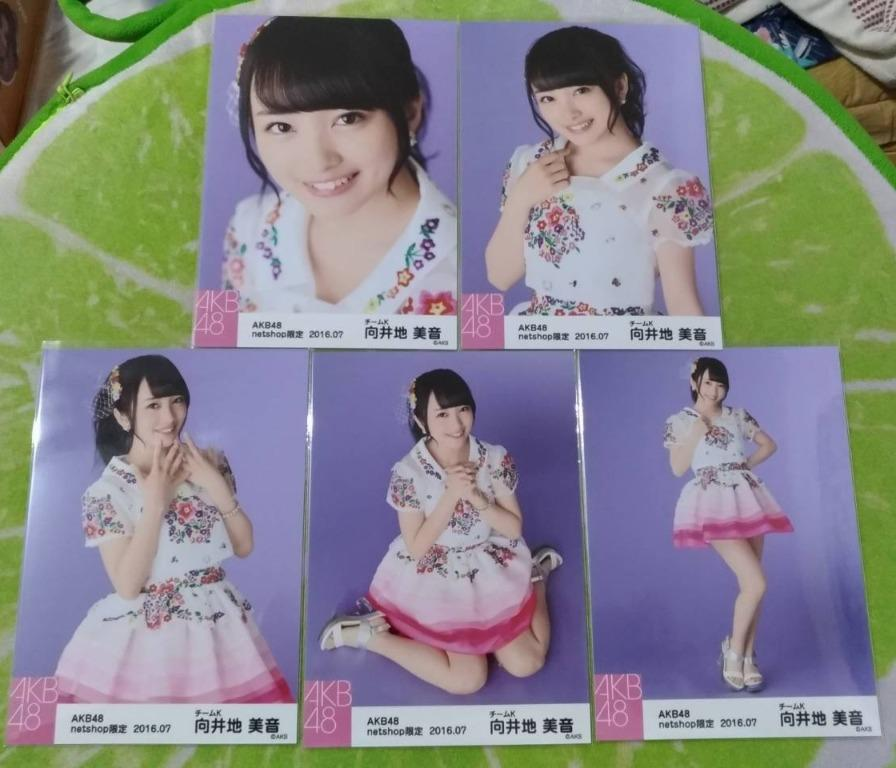 AKB48 向井地美音 netshop限定 2016.07 / 2016年7月 個別生寫真