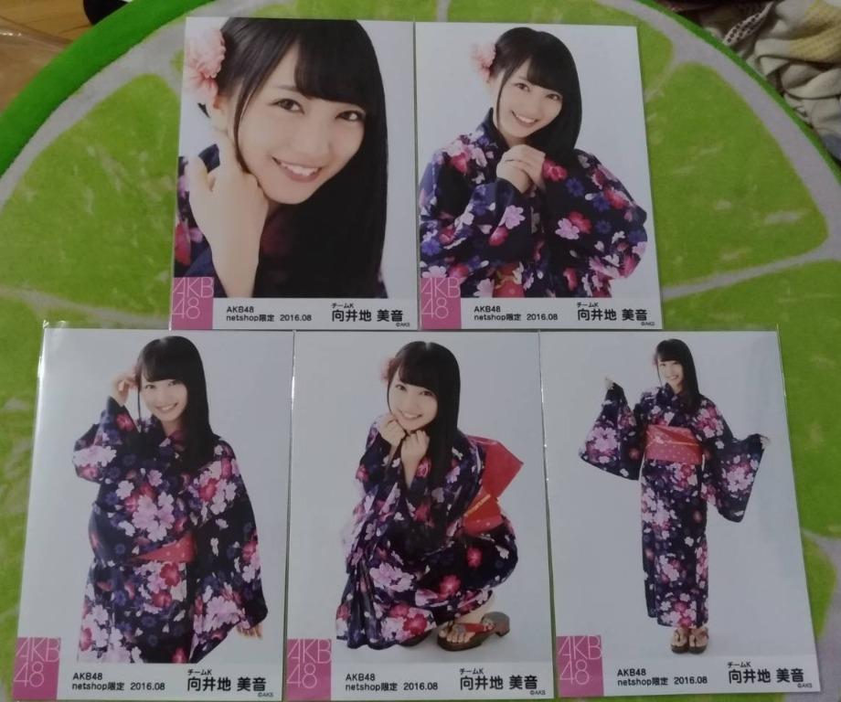 AKB48 向井地美音 netshop限定 2016.08 個別生寫真 / 和服生寫真(2016年8月)