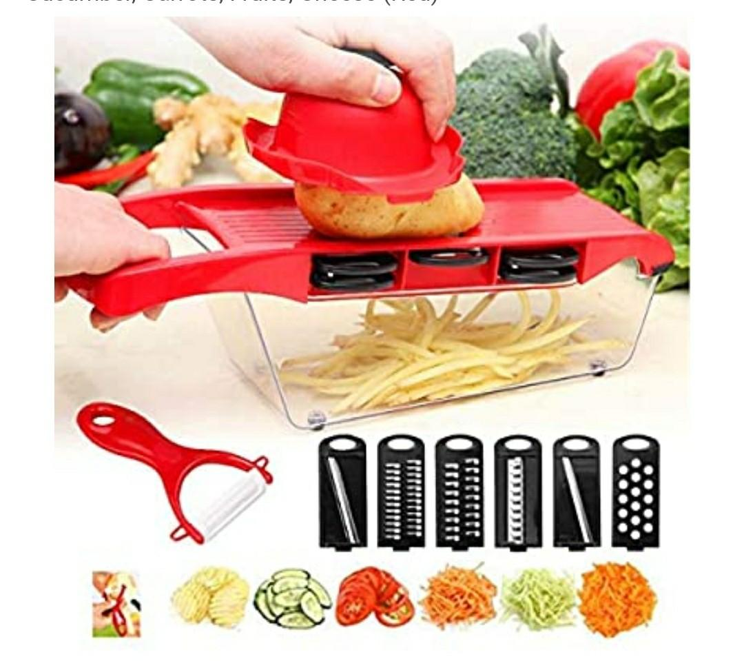 BNIB Vegetable Chopper Mandoline Slicer 6in1