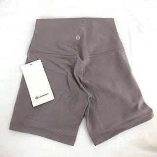 """BNWT Lululemon align shorts 6"""" Violet Verbena"""