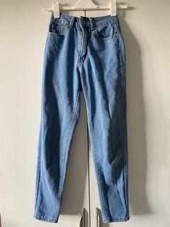 boohoo mom jeans