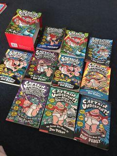 Captain Underpants Books x10