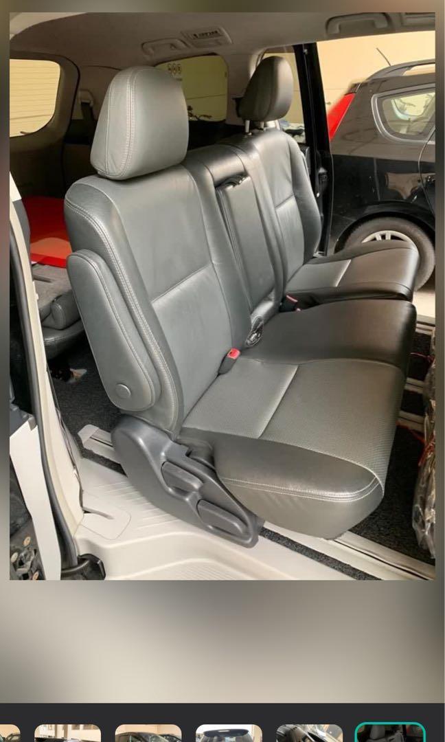 Estima with driver for hire