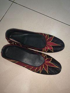 #bersih2021 Ethnic Flatshoes