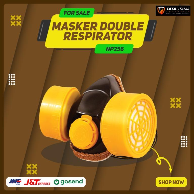 Masker Double Respirator NP256