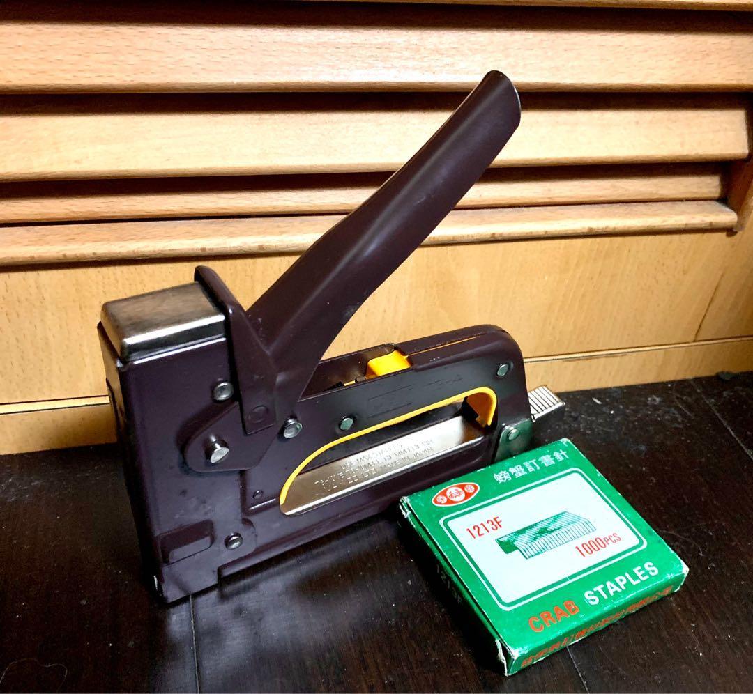 日本Max  TG-A 槍型釘書機 木工機 裝訂機 重型射釘機