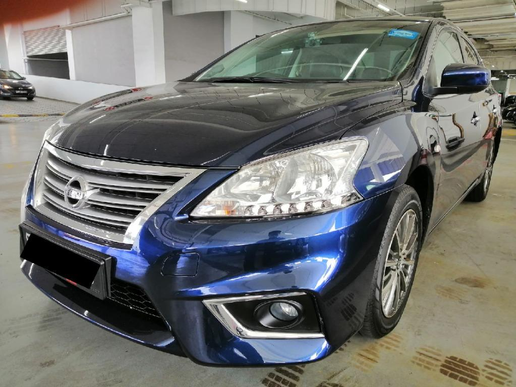 Nissan Sylphy 1.6a GPS r/cam