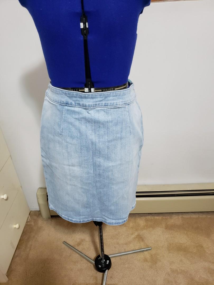 NWT Hollister Denim Skirt