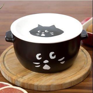 [NYA]黑白簡約陶瓷盤碗組