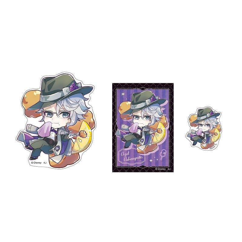(Po) Disney Twisted Wonderland Trading sticker set (charapeco)