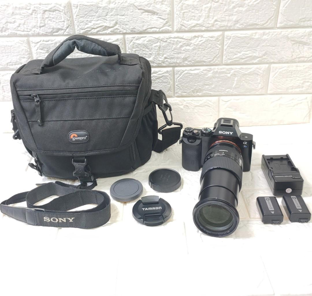 Sony A7S Fullframe with Tamron 18-200mm Lens