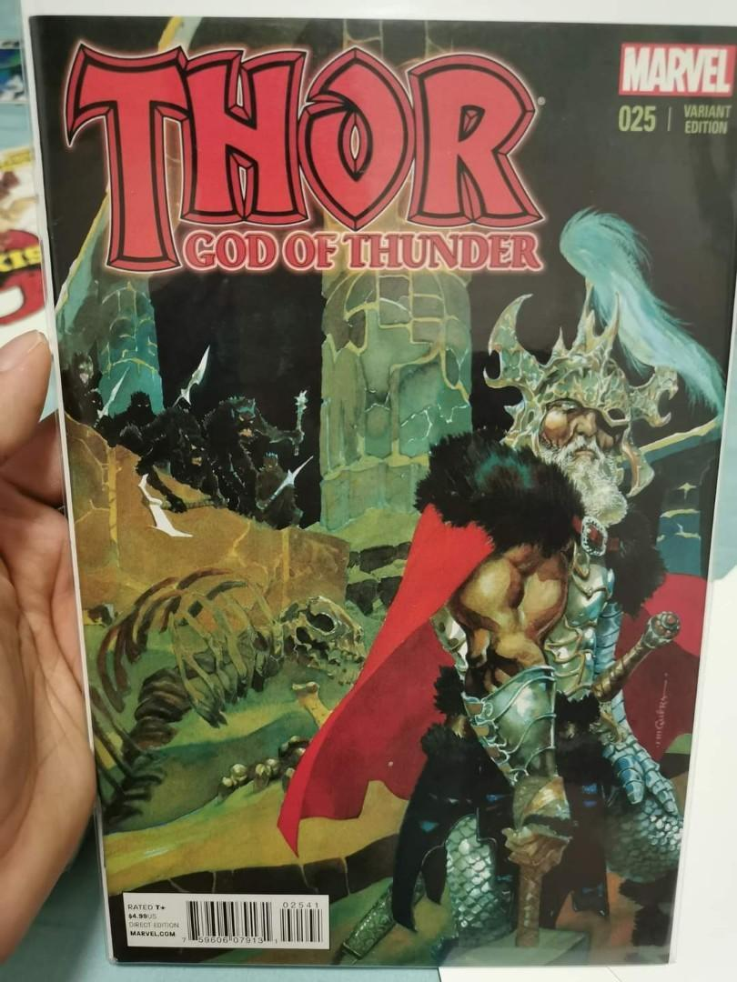 THOR #25~1st JANE FOSTER AS THOR~FINAL ISSUE~MARVEL COMICS BOOK~NM