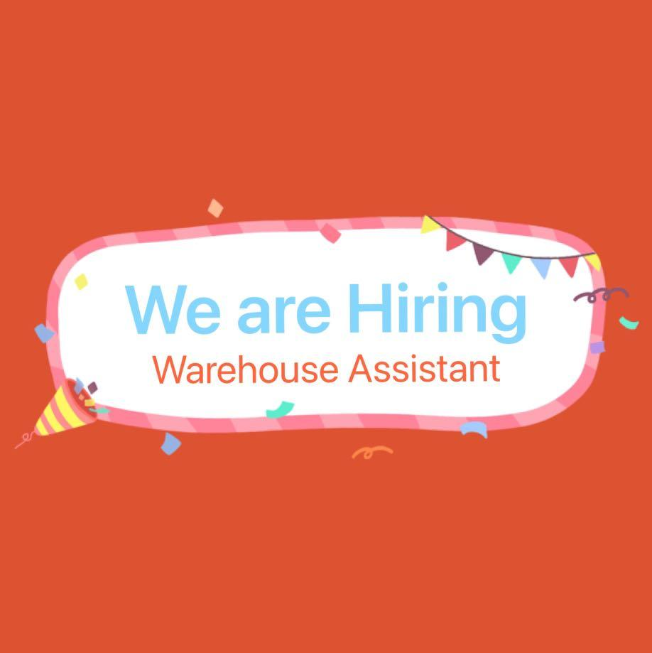 Warehouse Assistant Part-time/Full-time