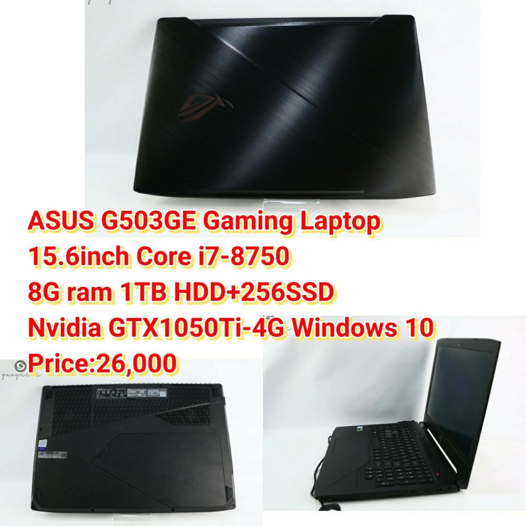 ASUS G503GE Gaming Laptop Core i7