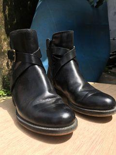 Boots Hitam Free Ongkir