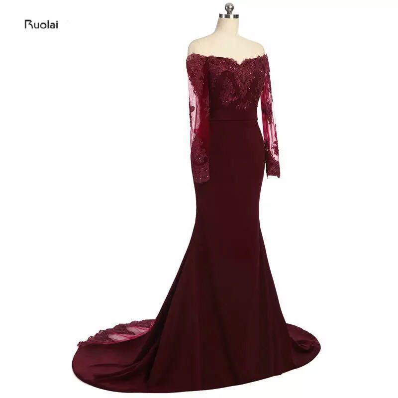 Burgundy Dress XS