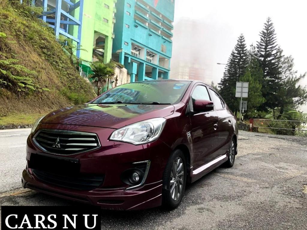(C136) Mitsubishi Attrage 1.2 Auto