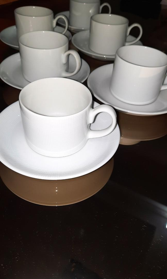 Cups & Saucer Made in Brasil