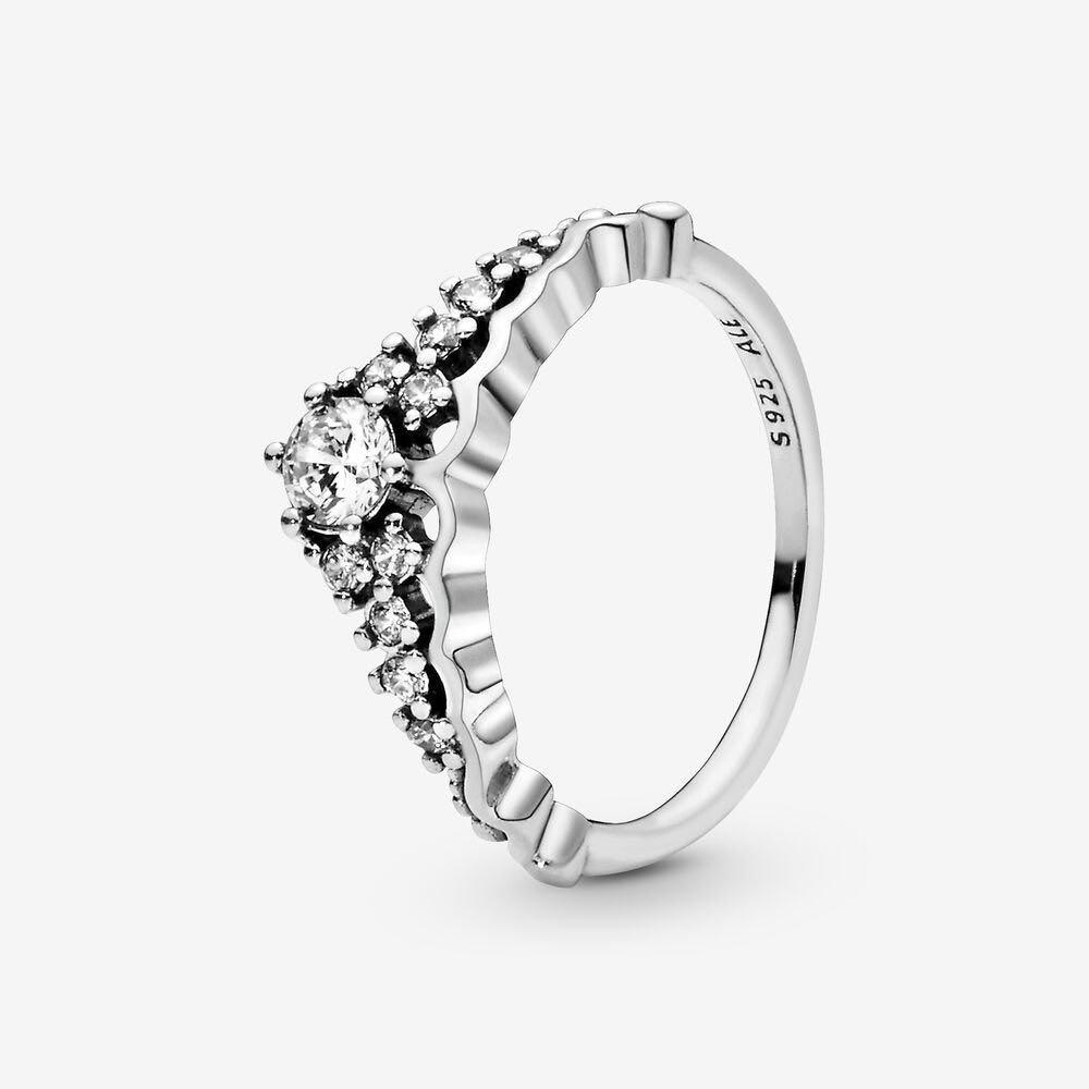 Fairy Tale Tiara Wishbone Ring