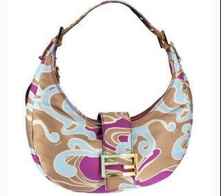 Fendi Swirl Hobo Bag