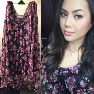 Flower dress size L