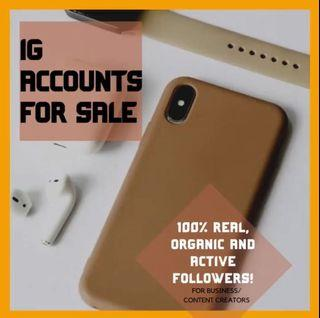 IG Account For Sale With Filipino Followers