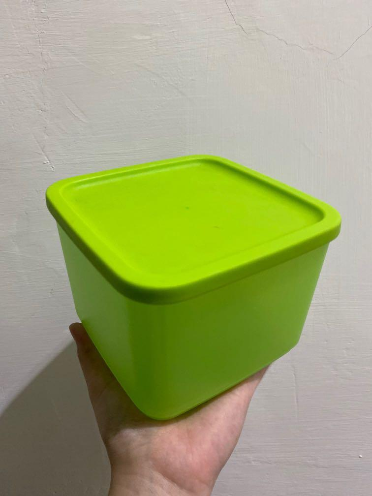 Kotak Makan Tupperware 1L Green