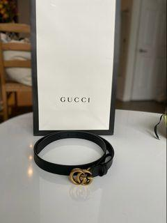 NEW Authentic Women's Gucci Leather Belt