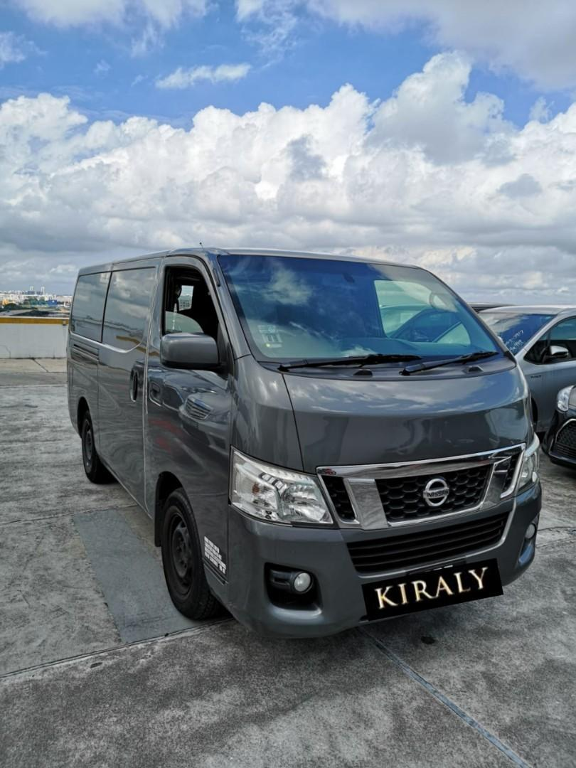Nissan NV350 Van for daily rent (auto/manual)