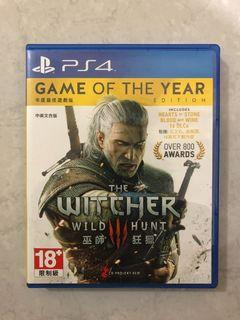 PS4 Games - The Witcher 3